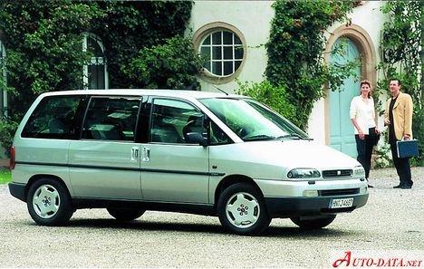 Fiat Ulysse 1998. Fiat - Ulysse - Ulysse I