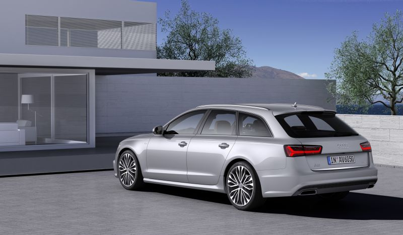 bilder audi a6 avant 4g c7 facelift 2014 2 12. Black Bedroom Furniture Sets. Home Design Ideas