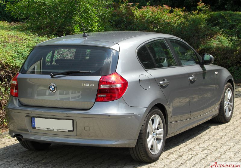 images of bmw 1er e87 lci facelift 2007 6 12. Black Bedroom Furniture Sets. Home Design Ideas