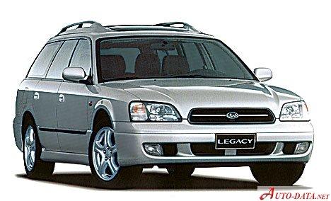 Images Of Subaru Legacy Iii Station Wagon Be Bh 1 5