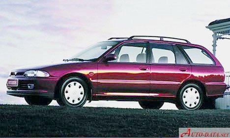 Mitsubishi Lancer Lancer Wagon. Images:Mitsubishi - Lancer