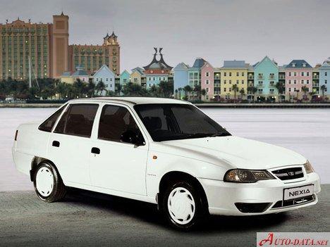 1996 Daewoo Nexia. Images:Daewoo - Nexia - Nexia