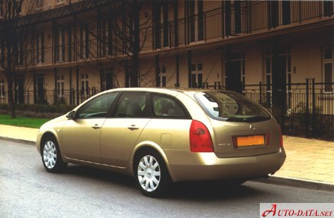 images of nissan primera wagon p12 3 4. Black Bedroom Furniture Sets. Home Design Ideas
