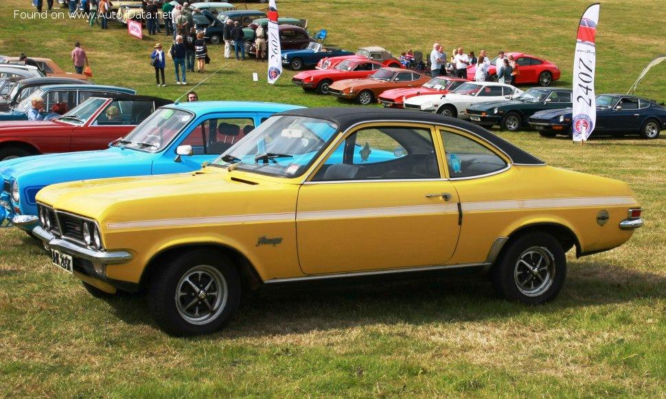 Vauxhall Firenza Coupe